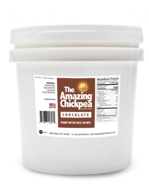 The Amazing Chickpea Chocolate Spread 15 LB Pail [212 Serving]
