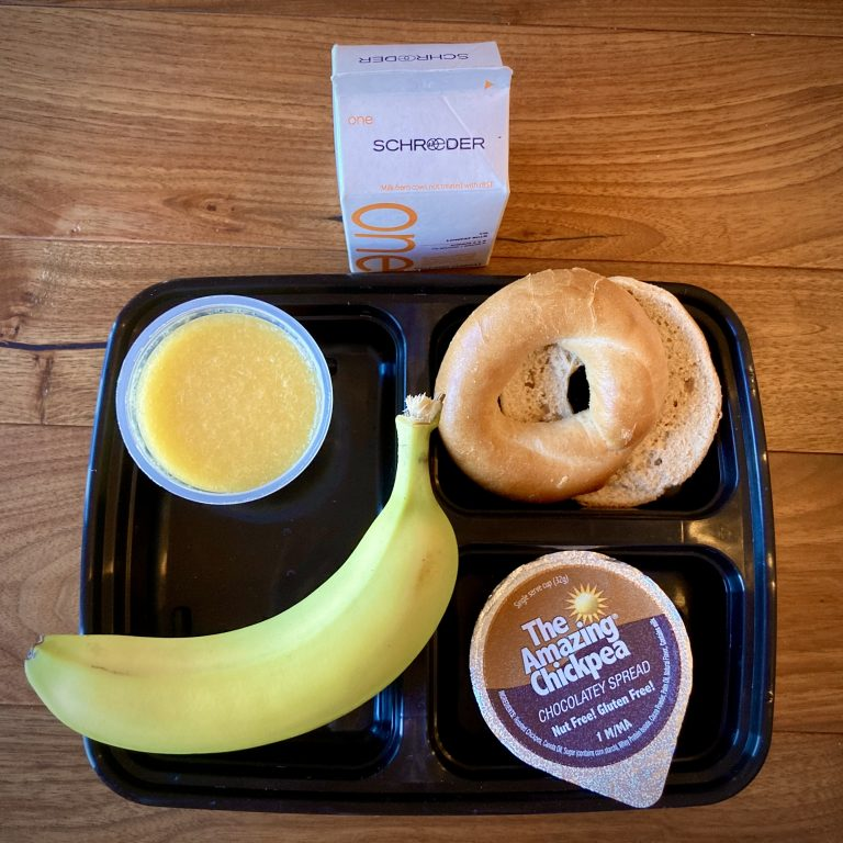 Cocoa Banana Bagel Box