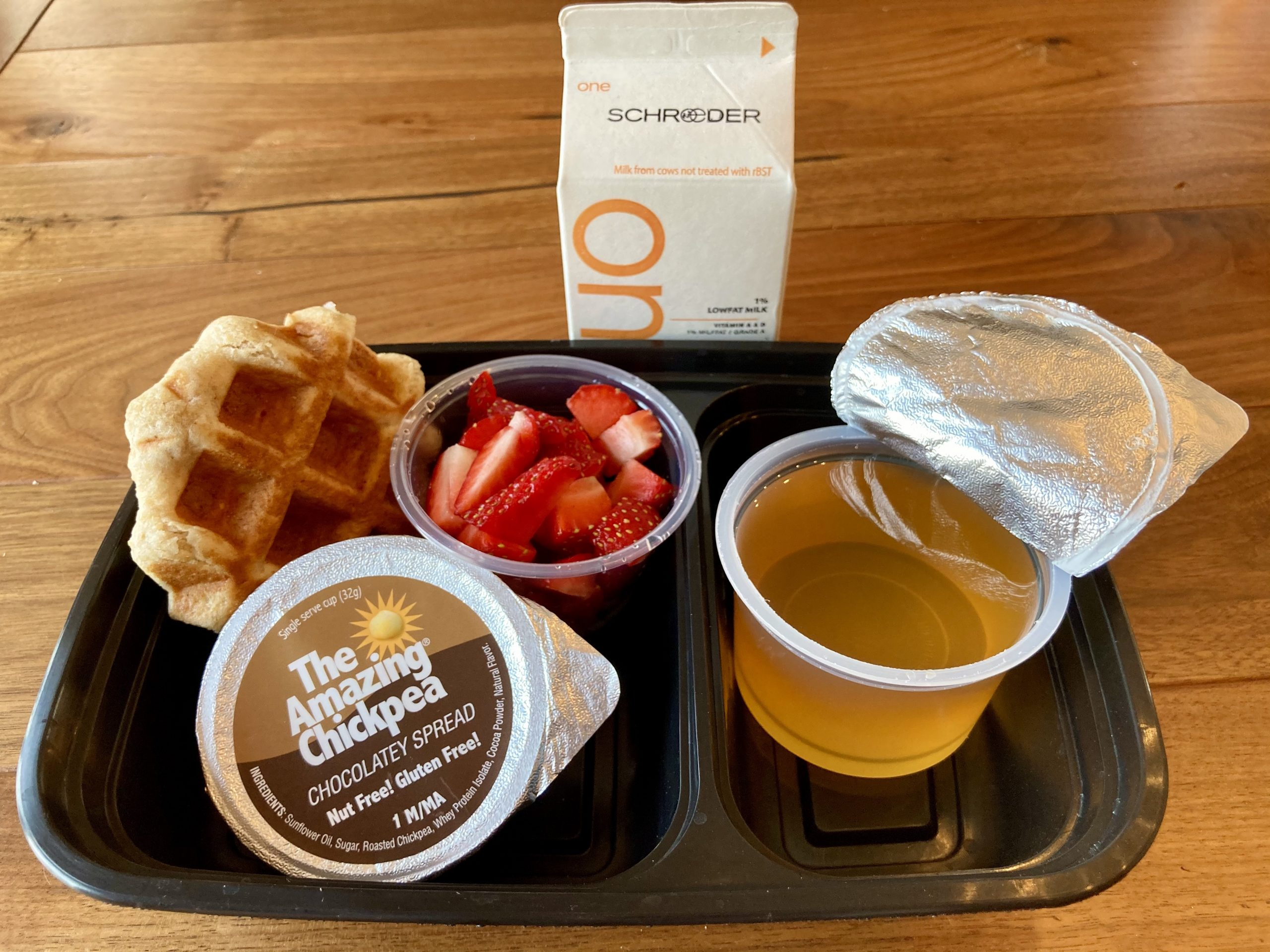 Chickpea Chocolate Covered Strawberry Waffle Box: K-12