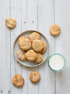 Chickpea Butter Cookies