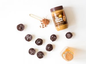 Chickpea Butter Cups