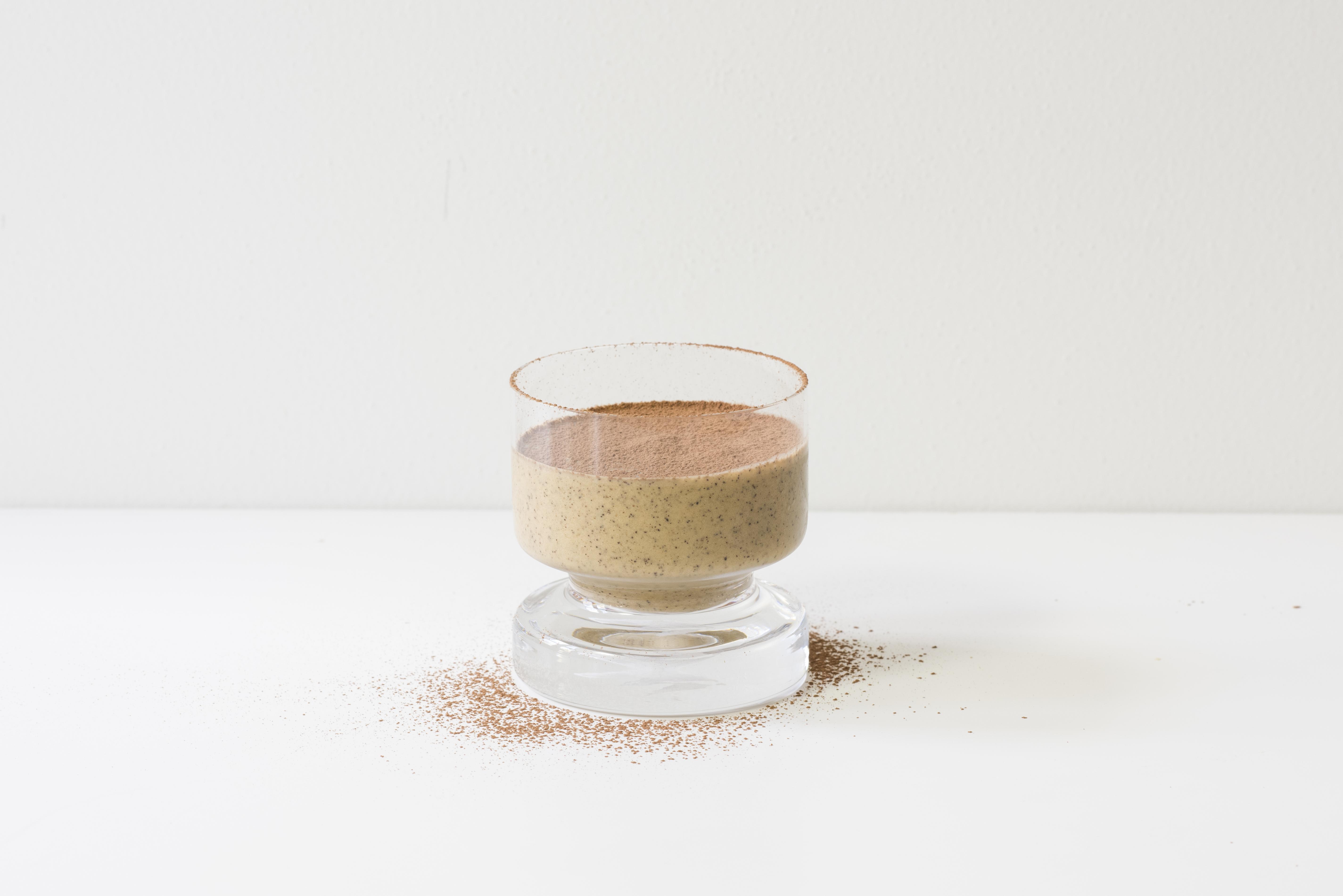 Chickpea 'Peanut' Butter Espresso Smoothie