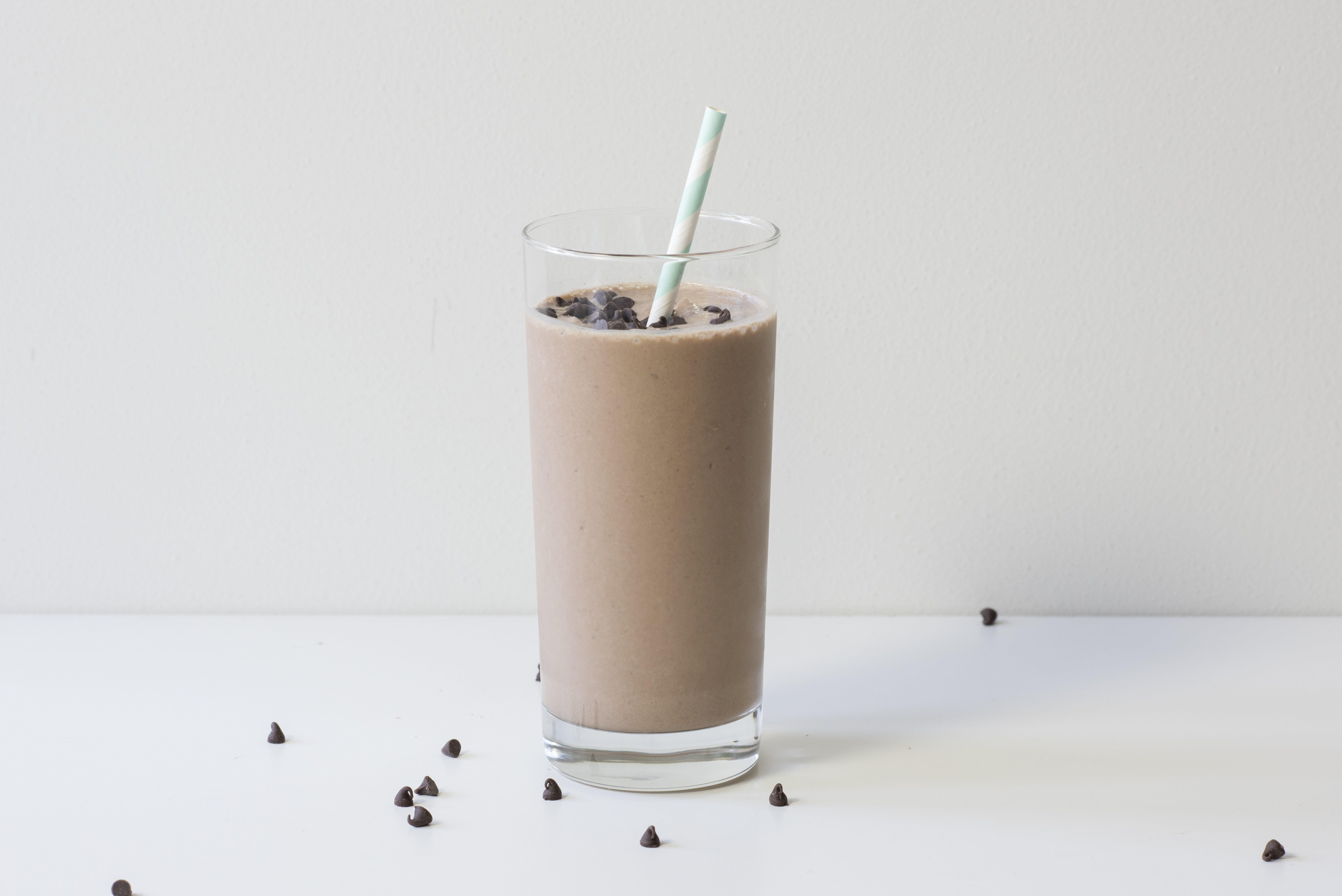 Chickpea 'Peanut' Butter Cup Smoothie