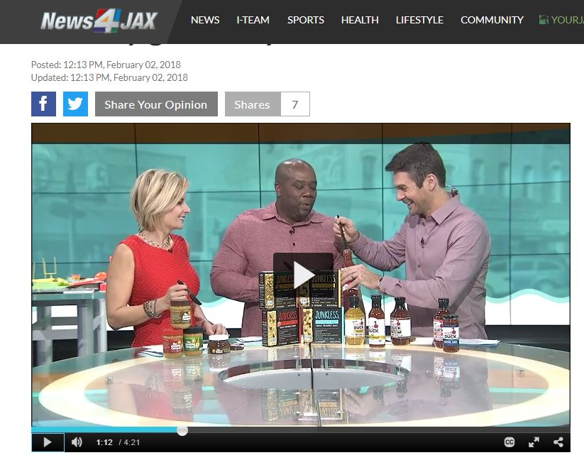 Healthy Gameday Snacks – via WJXT News4JAX