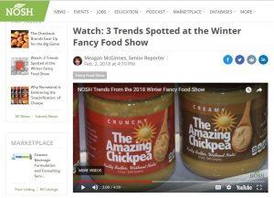 Trending at Winter Fancy Food Show – via Project Nosh