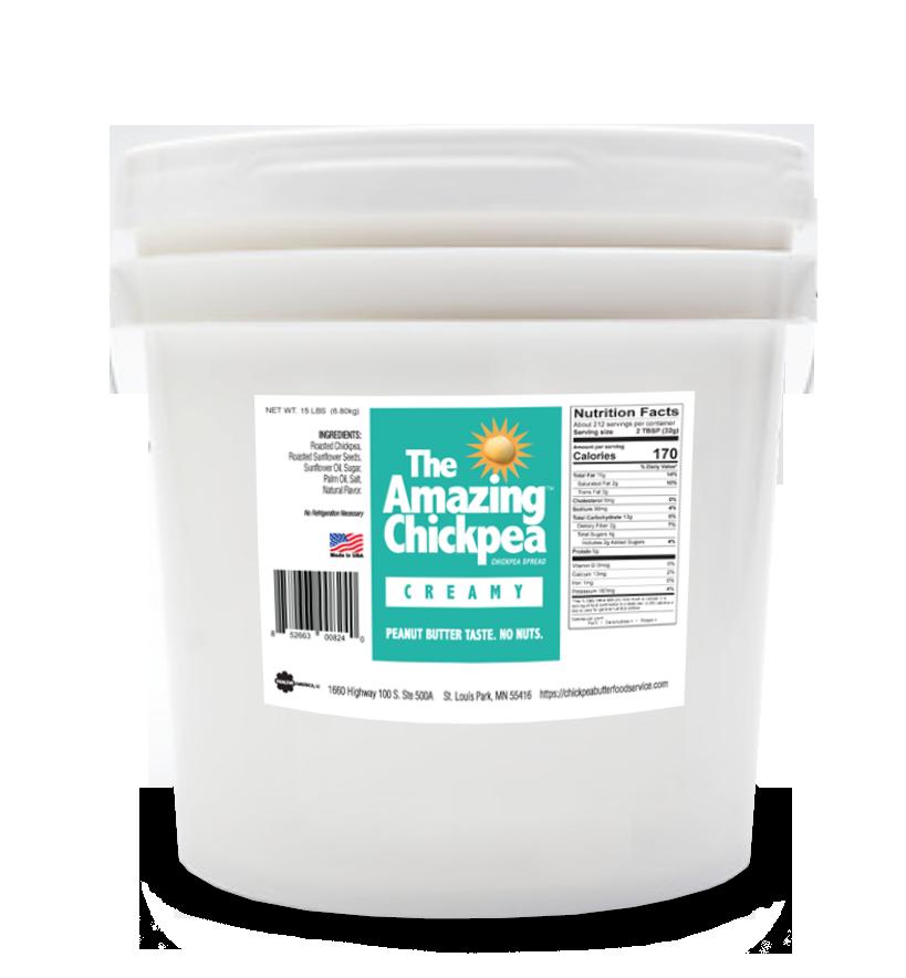 15 lb Creamy Chickpea Butter Spread