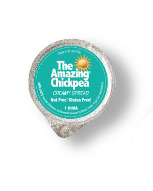 The Amazing Chickpea Creamy Spread Single Serve Cups [72 case Pack]