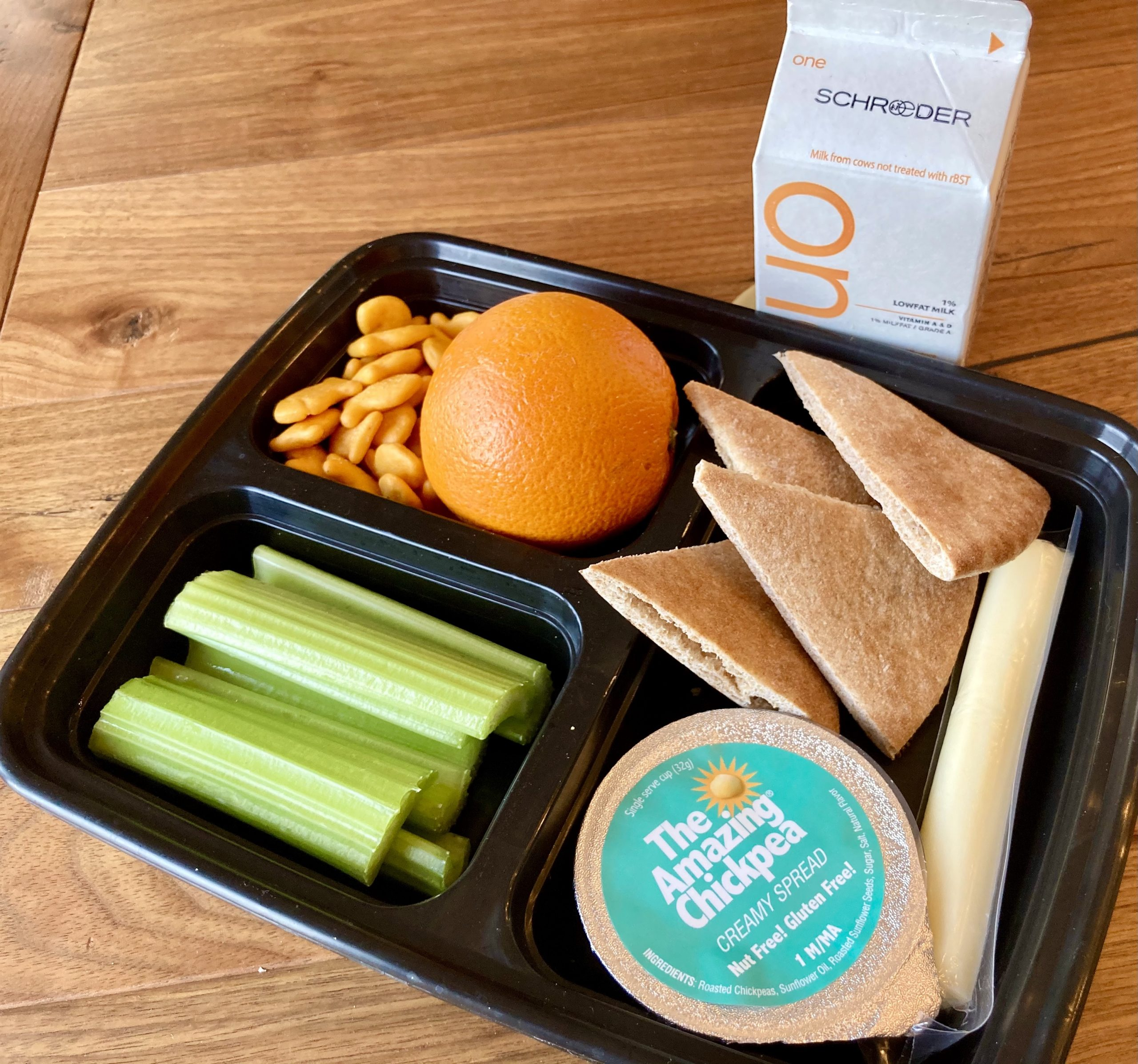 Creamy Chickpea Butter Grab-and-Go Box: K-8
